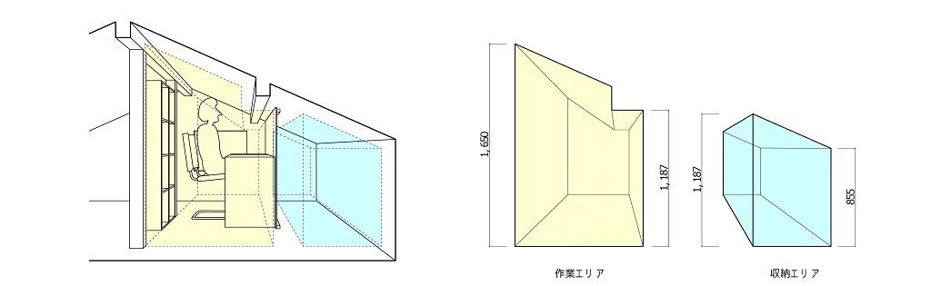 屋根裏平面2