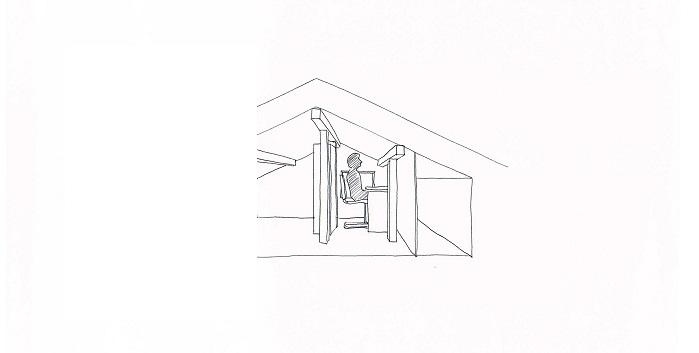 屋根裏断面1小モノクロ2